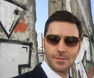 richard armitage, berlin station, and selfie image