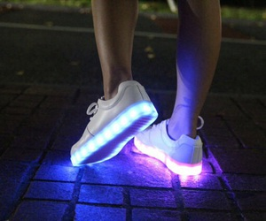 shoes, light, and tumblr image