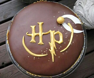harry potter, cake, and hp image
