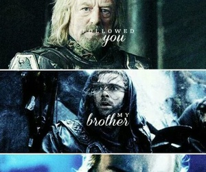 the hobbit, boromir, and lord of the rings image