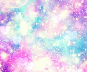galaxy and pastel image