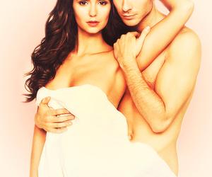 amazing, couple, and ian somerhalder image