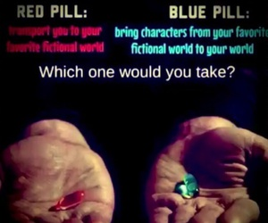 pill and fictional world image