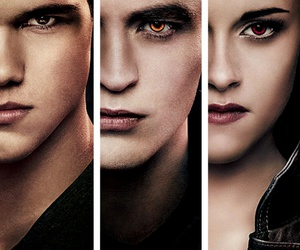 bella, edward, and jacob image