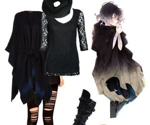 anime, outfit, and casual image