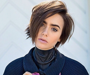 lily collins and celebrity image