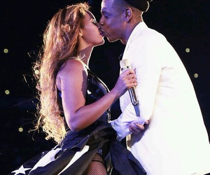 beyoncé, kiss, and jay z image