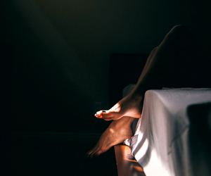 feet and light image