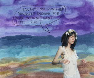 art, Collage, and Patti Smith image