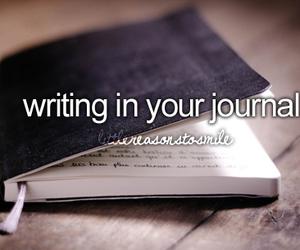 feelings, journal, and girly image
