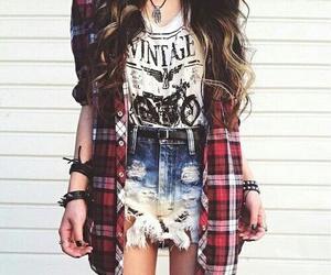 clothes girl hair shirt image