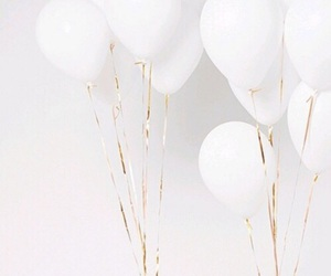balloons and white image