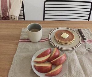 food, apple, and pastel image