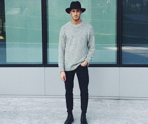attractive, Hot, and menswear image