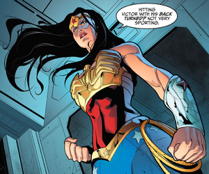 wonder woman, dc comics, and diana prince image