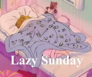 Sunday, Lazy, and sleep image