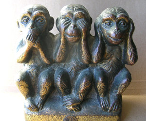 antique, etsy, and hear no evil image