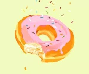donuts, food, and wallpaper image
