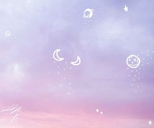 sky, pink, and cute image