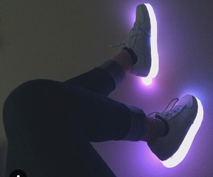 fashion, shoes, and light image