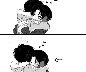 aww, cute, and eren image