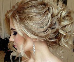 blonde, bride, and elegant image