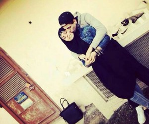 couple, love, and islam image