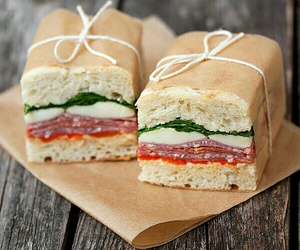 sandwich, food, and yummy image