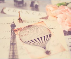 paris, vintage, and pink image
