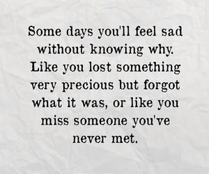 sadness, someone, and love image
