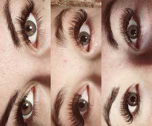 beuty, extensions, and eye image