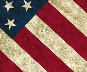 wallpaper, usa, and flag image