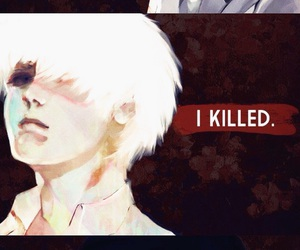 anime, kill, and tokyo ghoul image