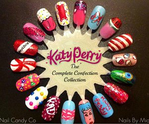 katy perry, nails, and art image