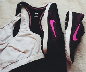 sport, fit, and nike image
