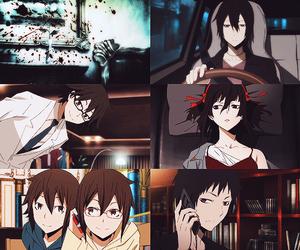 anime, durarara, and izaya image