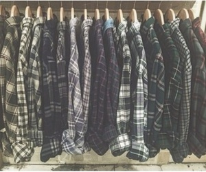 flannel, indie, and style image