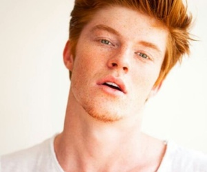 boy, redhead, and ginger image