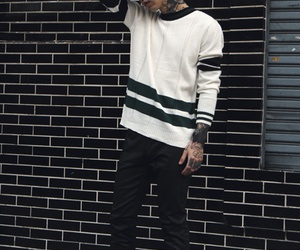 pale, Tattoos, and asianboys image