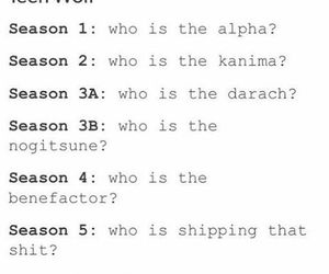 alpha, teen wolf, and nogitsune image