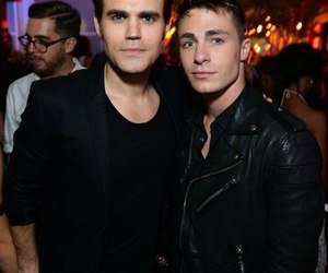 paul wesley and colton haynes image