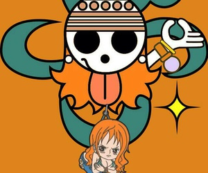 one piece, anime, and ñami image
