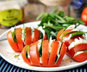 food, meal, and tomato image