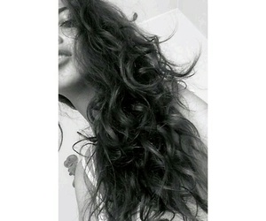 curly, face, and girl image