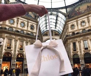 fashion, chloe, and shopping image