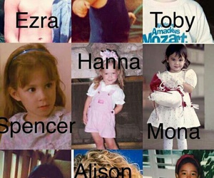 kids, cute, and pretty little liars image
