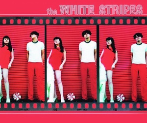 album, the white stripes, and jack white image