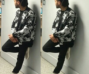 artist, the weeknd, and black and white image