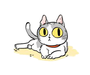 meow and overlays image