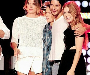 tyler posey, dylan sprayberry, and holland roden image